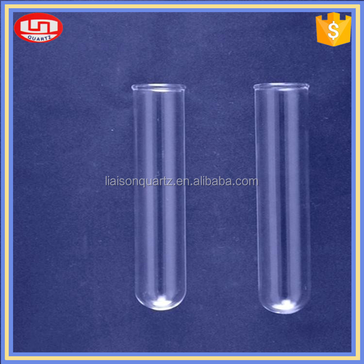 clear Quartz Glass Tube with Precisely tick for chemical experiments