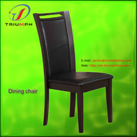 PU leather+(ANSI)foam wooden antique chair styles pictures