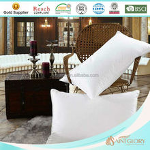 Luxury White King Size Soft Like Down Super Soft Hand Feeling Smooth Micro Gel Fiber Pillow