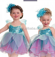 2016 New arrival confortable--kids birds costumes flower kids costumes-childrens casual dress