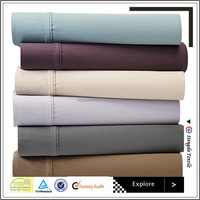 16 inch Deep Pocket 1200 TC Egyptian Cotton Sheet Set - Silky soft bed Sheets