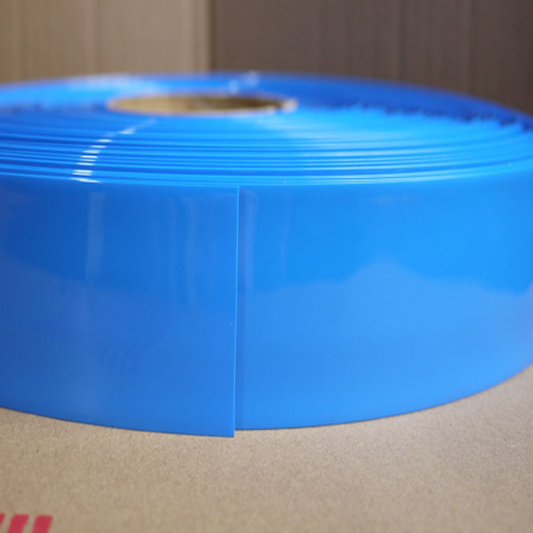 easy seal vacuum bag food packaging 7 layer blown transparent blue tube film
