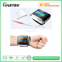 Health Care and Medical Care Reduce Blood Pressure lllt 650nm Wrist Laser Therapeutic Apparatus