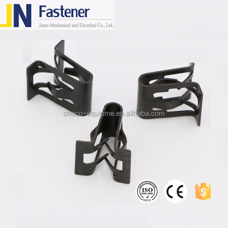 Auto speed clip fastener
