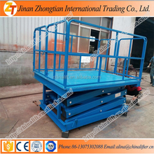 Fixed hydraulic scissor lift elevator special customized lift work platform