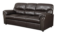 Factory price commercial grade hot sale arabic normal leather sofa
