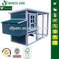 DFC009 Grey Commercial Chicken House Design
