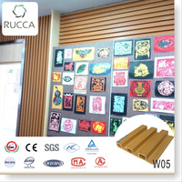 Foshan Ruccawood WPC/ Wood PVC Interior Decorative Wall Panel for Modern House from Alibaba china202*30mm