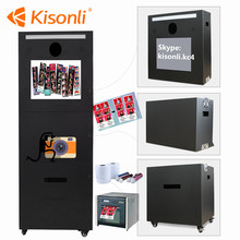 Portable Selfie Photo Booth Shell With Payment Function Kiosk Photo Booth Machine For Malaysia