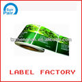 printing custom roll sticker label with high quality