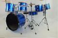 colorful 7 pcs pvc junior drum set