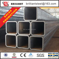 Tianjin square rectangular pipe ! square erw steel pipes pipline construction companies in china