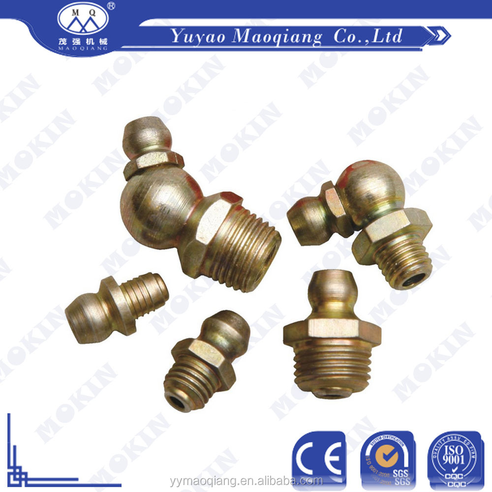 China manufacturer provide different high pressure grease fitting types