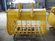 factory hot C 320 skeleton bucket suitable for river cleaning, stone screening