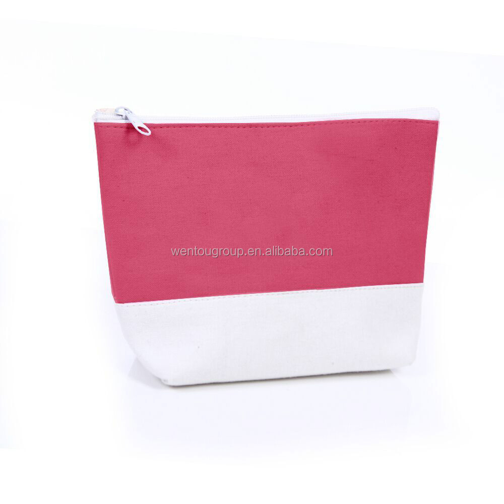 Hot selling Monogrammed travel cosmetic bag