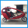 3 Wheel Electric Pedalling Assisted Bicycle Rickshaw for Rental