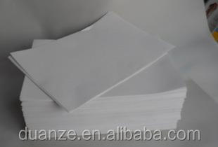 A4 size self adhesive semi gloss paper with white release paper