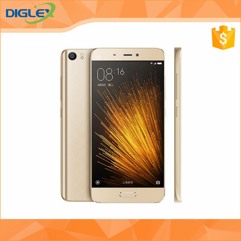 Original Xiaomi Mi5 Pro 128G ceremic mobile phone 5.15 inch Quad Core Qualcomm820 1920X1080 16.0MP camera official global rom