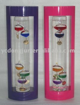 Wooden Galileo Thermometer