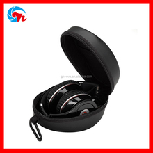 Custom waterproof oval eva headphone case box with carabiner