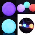 LED ball light waterproof outdoor furniture color changing ball light