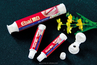 Small Flip Cap Toothpaste Empty Tube for Kids