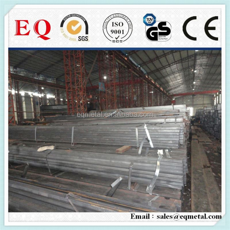 Hollow section galvanized steel furniture tube thin wall pre galvanized square steel tube
