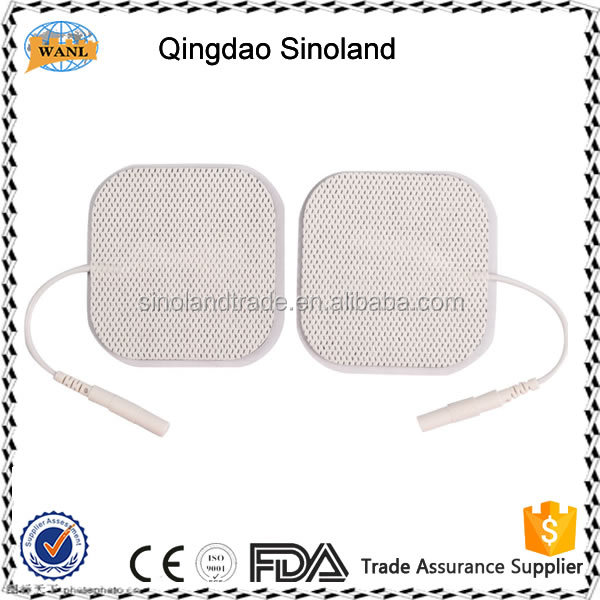Neonates disposable ecg electrode with button,foam material,Crescent
