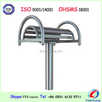 304L stainless steel waist back stretch outdoor gym equipment