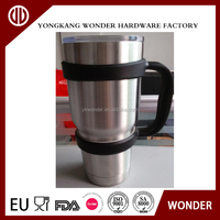 30oz stainless steel tumbler with handle
