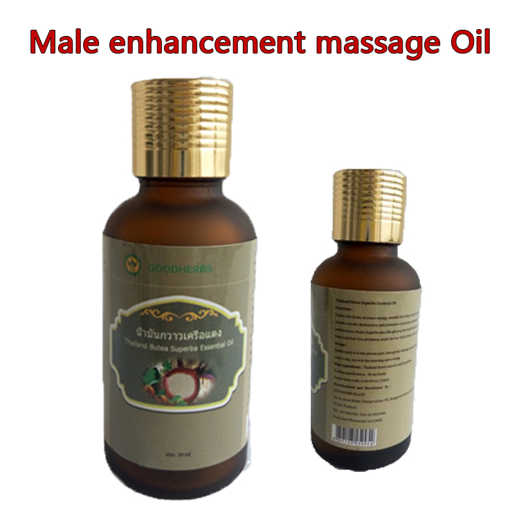 Natural Butea Superba aphrodisiac massage oil for penis enlargement