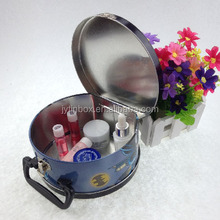 small metal tin lunch box with lock and key Metal Material round metal tin box packing container made in china alibaba