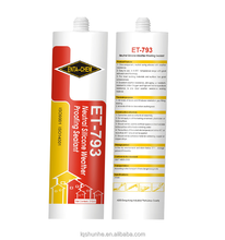 acid silicone glass sealant for doors and windows