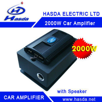 HA-14200AS subwoofer power amplifier 12V
