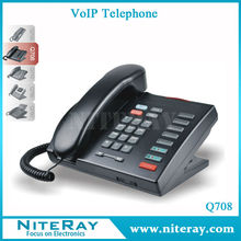 PBX phone voip telephone set support 2 SIP accounts