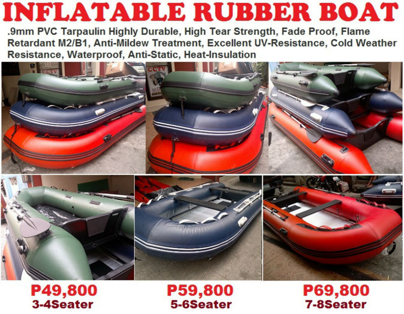 Rescue Rubber Boat
