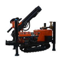 Low water well drilling rig machine price