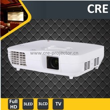 3xLCD 3xLED 50000 hours 3000 lumens 1080p home theater projector resolution 1920x1080 led/beam projector