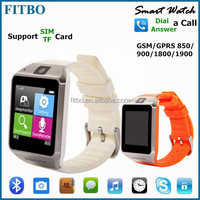 New GSM MTK6260 Anti Lost 1.5inch watch phone with tv