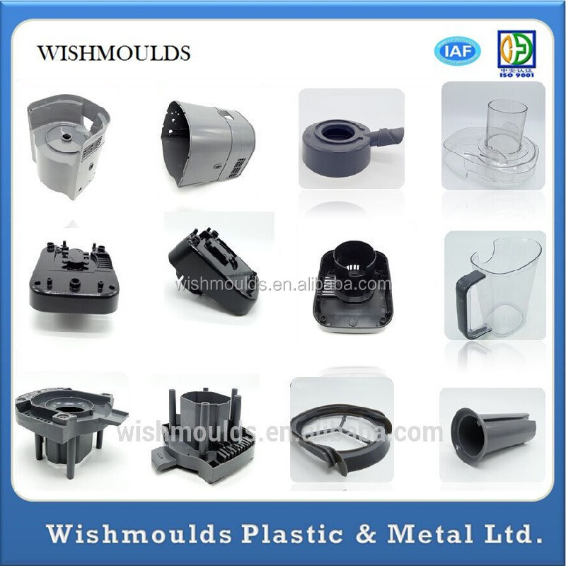 injection PP PC PS ABS POM Acrylic Plastic Products Custom Plastic Production Manufacturer in China in moulds