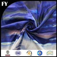 professional textile digital printed ice silk fabric