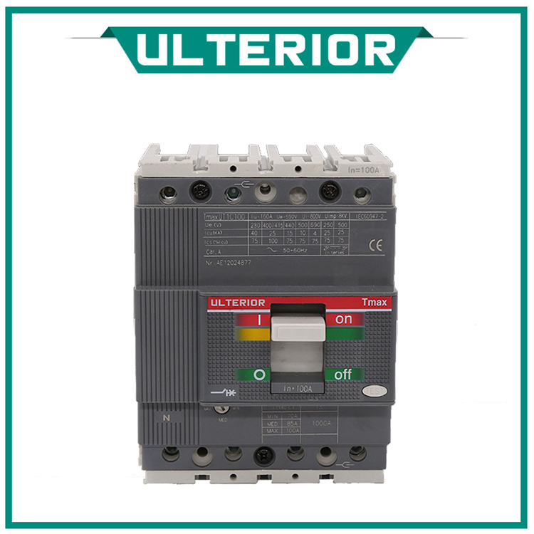 UlTERIOR Industrical Switch Moulded Case Circuit Breaker MCCB