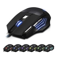 Computer mouse manufactur provide free sample wired gaming mouse