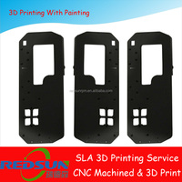 SLA Clear & painting finishing 3d printing service