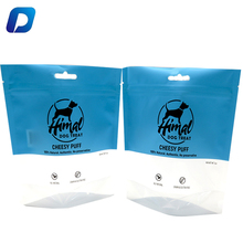 5oz 250g 500g 5kg ziplock pouch pet cat dog training treat food packaging bag