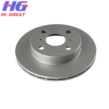 High quality Toyota auto parts brake disc OE:43512-10090 for Starlet