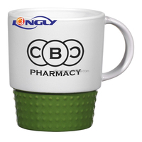 Promotional Stackable Ceramic Coffee Mug/cup
