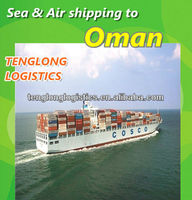 sea cargo to Muscat/ Port Sultan / Salalah of Oman from Shenzhen Shanghai Hangzhou