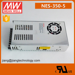 Meanwell NES-350-5 350W UL Approved 220VAC to 5V DC Power Supply