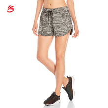 OEM new style ladies shorts gym custom design women running yoga cotton / polyester shorts cheap price